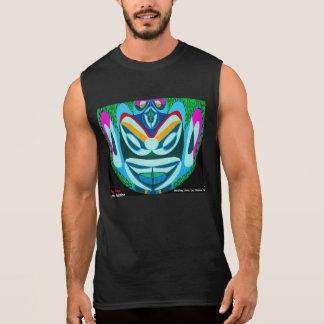YOGのマヤ:  EDIT nの変更のおもしろいな文字 袖なしシャツ