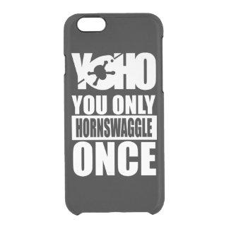 YOHOの海賊黒 クリアiPhone 6/6Sケース