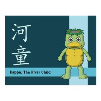 YokaiのΚ (川の小鬼) ポストカード