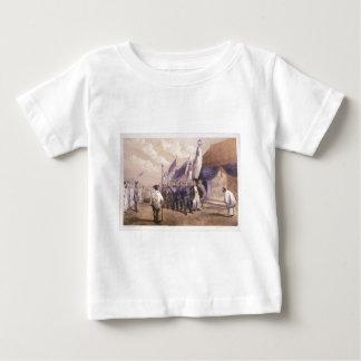 YokuhamaのCommodor Matthewペリーの会合 ベビーTシャツ