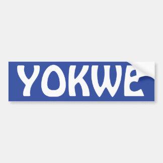 YOKWE -あなたすべてに挨拶するMarshallese! バンパーステッカー