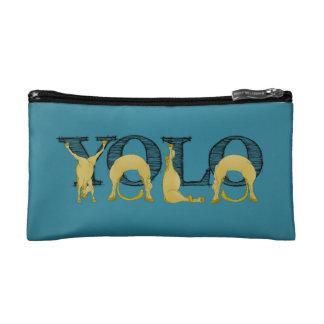 YOLOのflexiの子馬 コスメティックバッグ
