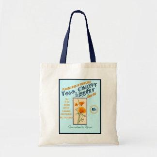 Yolo郡の図書館のトートバック トートバッグ