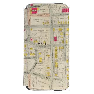 Yonkersの地図の地図書 iPhone 6/6sウォレットケース