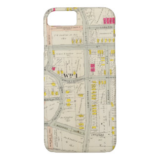 Yonkersの地図の地図書 iPhone 8/7ケース