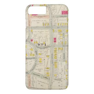 Yonkersの地図の地図書 iPhone 8 Plus/7 Plusケース