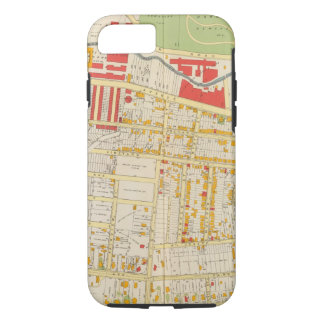 Yonkersの地図書の地図2 iPhone 8/7ケース