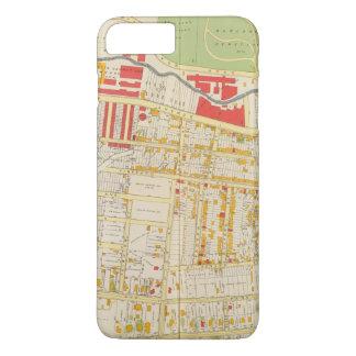 Yonkersの地図書の地図2 iPhone 8 Plus/7 Plusケース