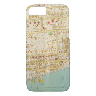 Yonkersの地図書 iPhone 8/7ケース