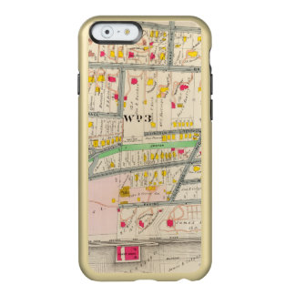 Yonkers NYの地図 Incipio Feather Shine iPhone 6ケース