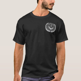 YonkersPD胸のロゴ Tシャツ