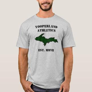 Yooperlandの運動競技 Tシャツ