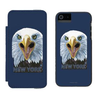 YorkEagleの新しい終わり Incipio Watson™ iPhone 5 ウォレット ケース