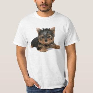 Yorkiの子犬 Tシャツ