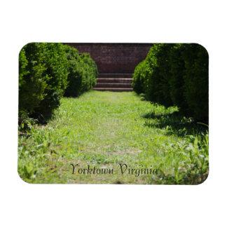 Yorktownの庭 マグネット