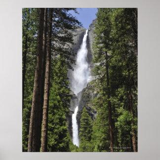 Yosemite Fallsのヨセミテ国立公園 ポスター
