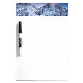 Yosemite Fallsの日の出 ホワイトボード