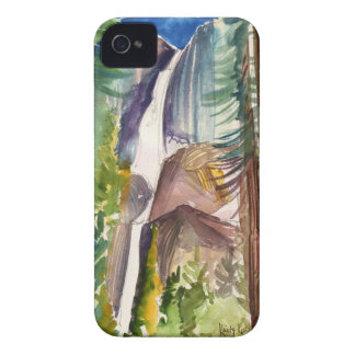 Yosemite Fallsの水彩画のiPhoneの場合 Case-Mate iPhone 4 ケース