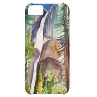 Yosemite Fallsの水彩画のiPhoneの場合 iPhone5Cケース