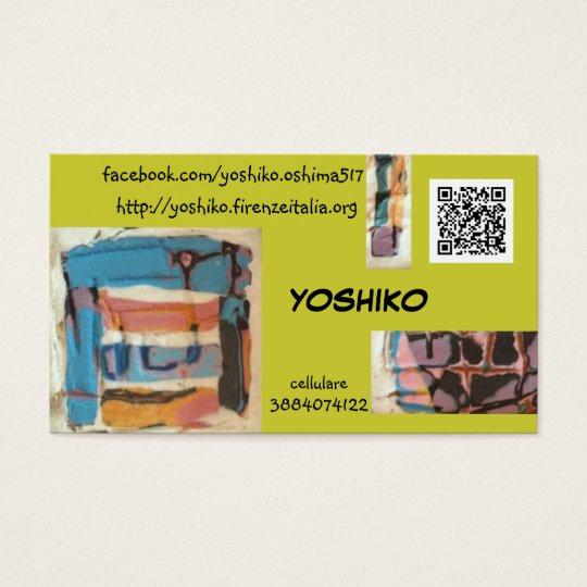 yoshiko 名刺