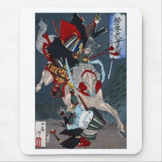 Yoshitoshi ,『 芳年武者む類 平将門 』、月岡芳年 マウスパッド