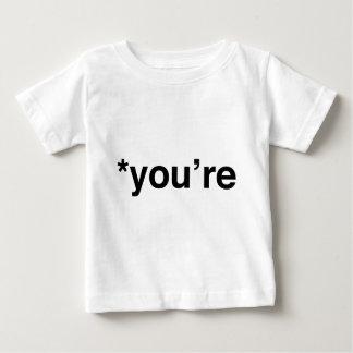 *Youはあります ベビーTシャツ
