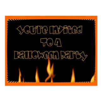 You' ハローウィンパーティに招待される再 ポストカード