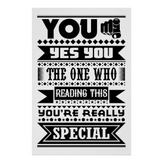 You Are Special (Motivational Quote) ポスター