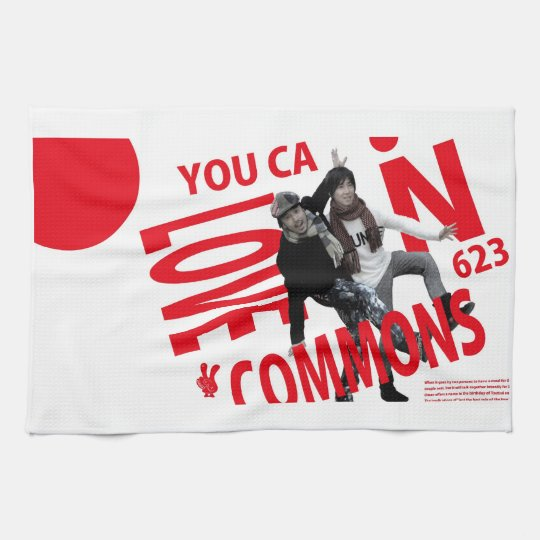 YOU CAN LOVECOMMONS タオル Type2