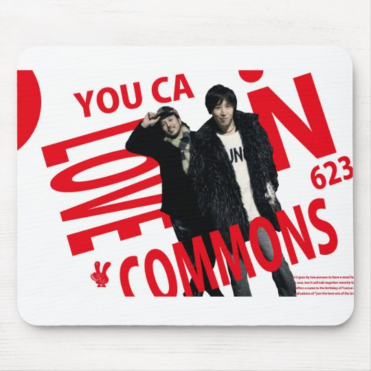 YOU CAN LOVECOMMONS マウスパッドType1 マウスパッド