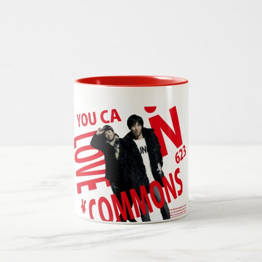 YOU CAN LOVECOMMONS マグType1 ツートーンマグカップ