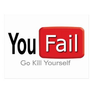 You_Fail ポストカード