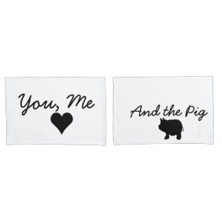 You, Me and the Pig 枕カバー