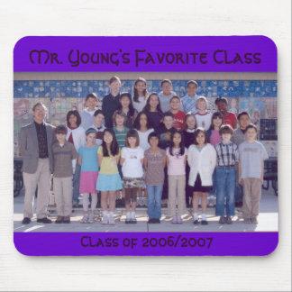 Young's Favorite Classの2006/2007のクラス氏 マウスパッド