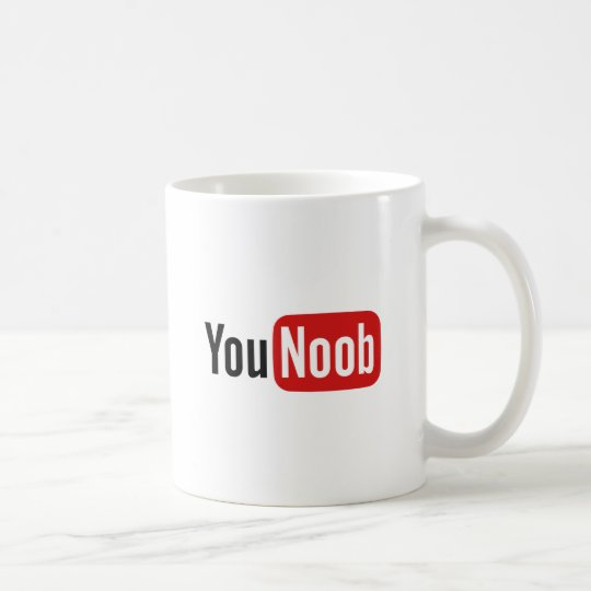 YouNoob コーヒーマグカップ