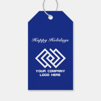 Your Company Party Logo Holiday Gift Tags B ギフトタグ