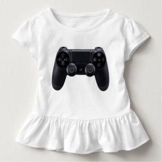 Youtubeのロゴの白 トドラーTシャツ