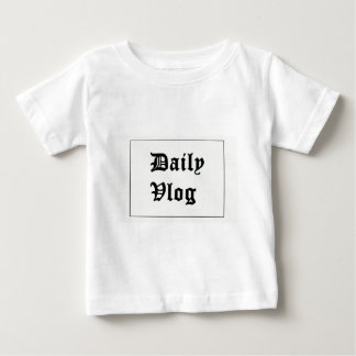 YouTubeの私の最初merch ベビーTシャツ