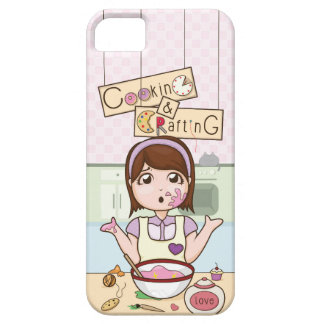 YouTubeのCookingAndCrafting iPhone SE/5/5s ケース
