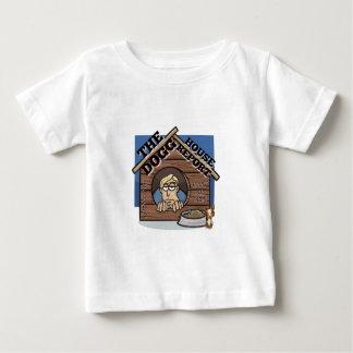 YouTube私のチャネルDoggの家のレポートの店 ベビーTシャツ