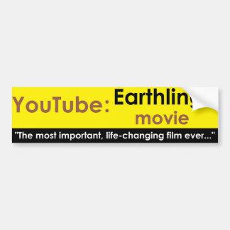 Youtube: 人類映画 バンパーステッカー