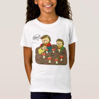 Yozhin家族のきのこのTシャツ Tシャツ