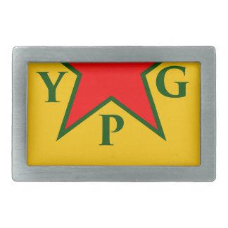 ypg-ypj -サポートkobani 長方形ベルトバックル