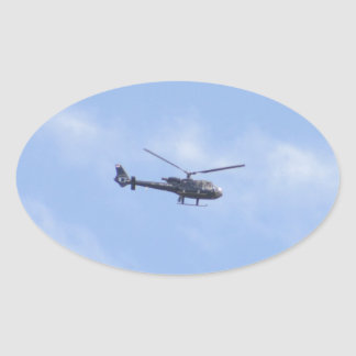 YU-HPZの 石鹸水航空341Gガゼル342J 楕円形シール