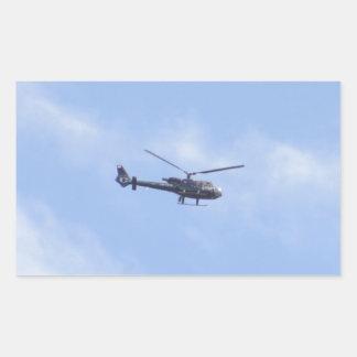 YU-HPZの 石鹸水航空341Gガゼル342J 長方形シール