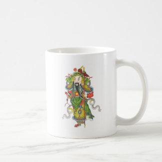 Yu hwa肺、幸福に小さい終える神 コーヒーマグカップ
