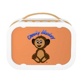 """Yuboのお弁当箱、写実的な""""生意気な猿"""" ランチボックス"""
