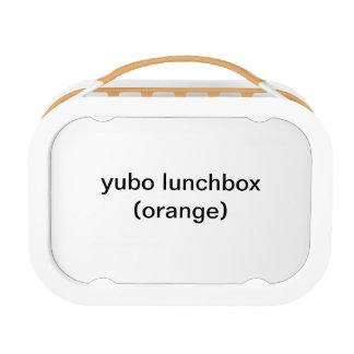 yuboのランチボックス(オレンジ)