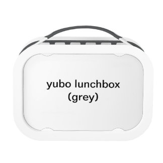 yuboのランチボックス(灰色)