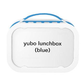 yuboのランチボックス(青い)